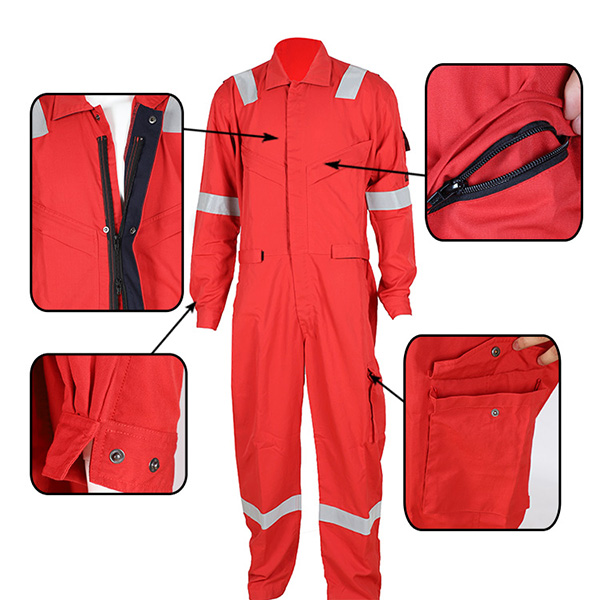 Xinke Protective flame retardant coverall clothing benifits